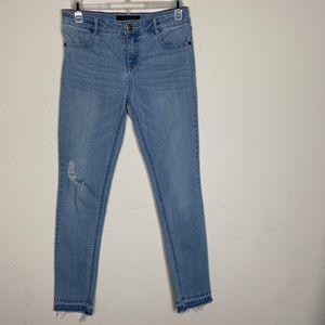Tommy Hilfiger- Distressed Light Blue Jeans size14